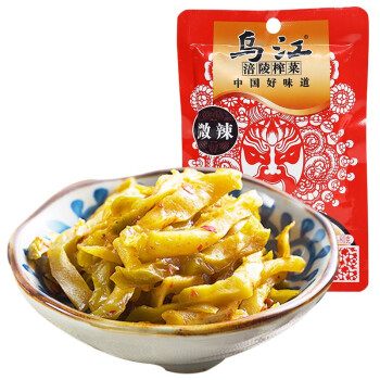 乌江涪陵榨菜   微辣    80g*4袋/组